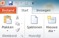 Automatisering huisstijl MS Office