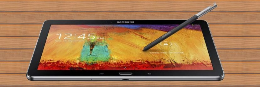Samsung Galaxy Note met pen