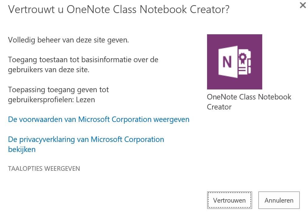 Onenote in de klas 8