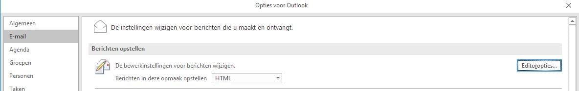 Autocorrectie Outlook 4