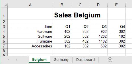 Excel werkbladen tegelijk in beeld 1