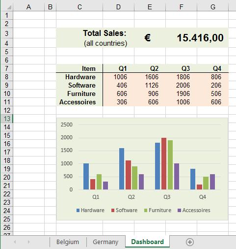 Excel werkbladen tegelijk in beeld 3
