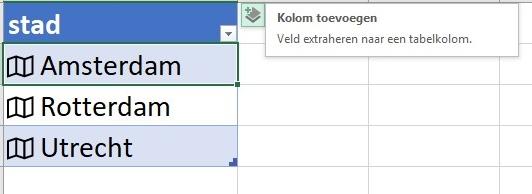 Gegevenstypen Excel 4