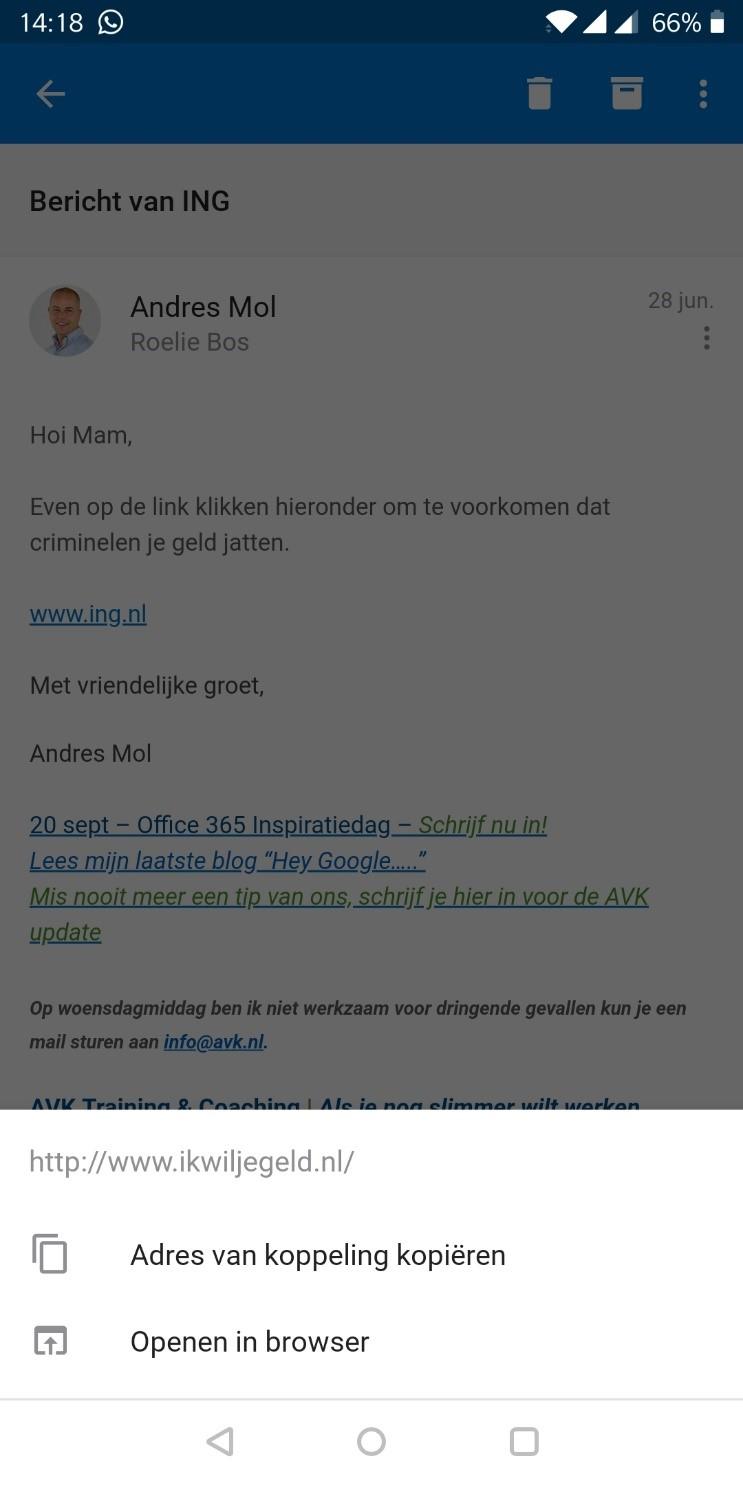 Blog AVG absoluut veel gebeurd screenshot