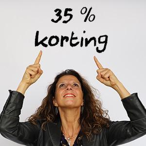 35% korting op een training