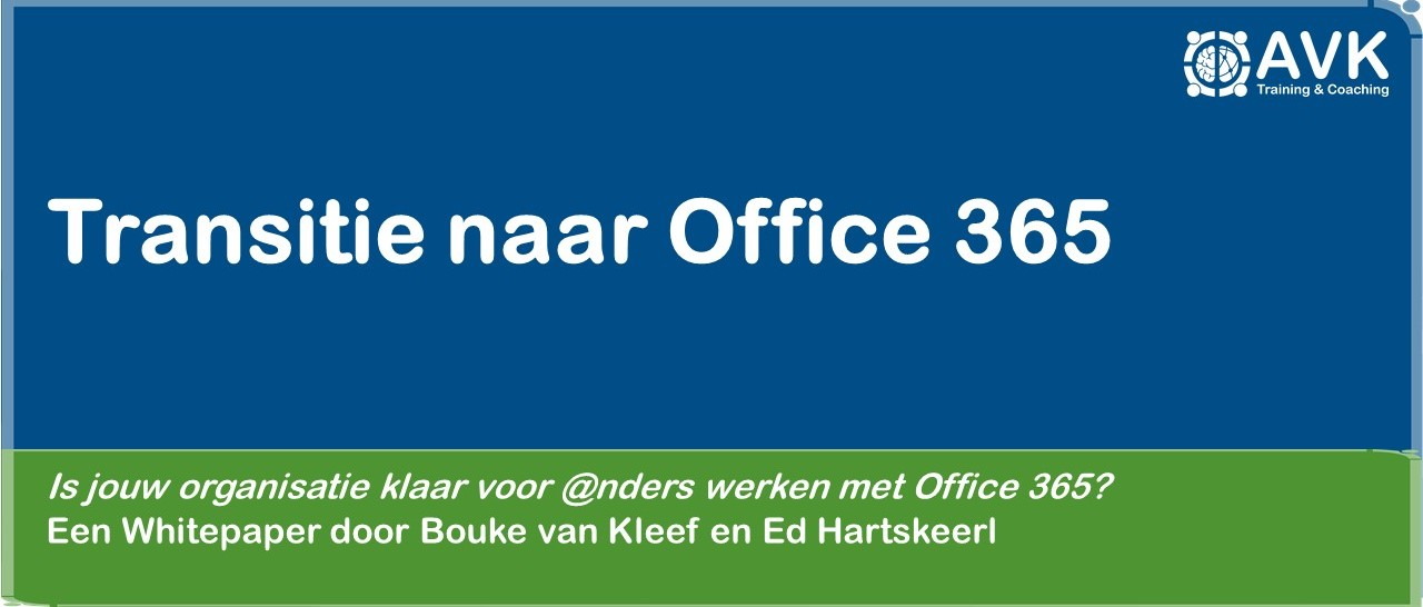 Whitepaper transitie naar Office 365