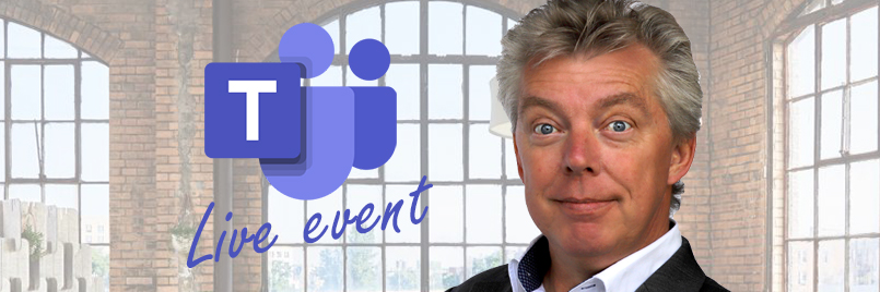 Live event - Livegebeurtenis in MS Teams