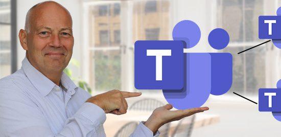 Tegelijk werken in meerdere Teams en Microsoft 365 accounts