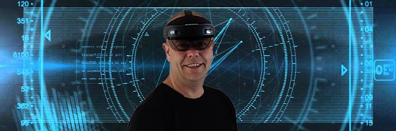Andres en Bouke testen de HoloLens 2 in dit vlog
