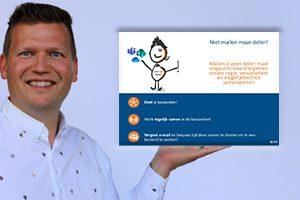 Digitale etiquette posters bij de overstap naar Microsoft 365 en Teams