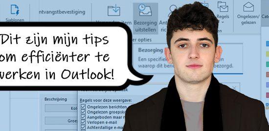 Outlook tips om efficiënter te werken