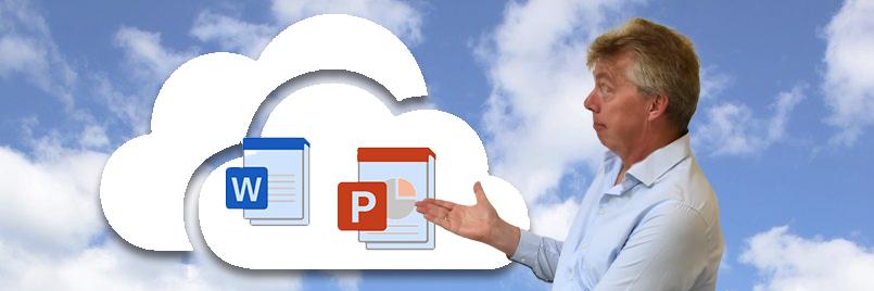Sjablonen centraal beheren in de cloud Microsoft 365