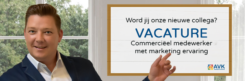 Vacature Commercieel medewerker marketing