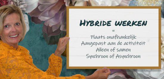Waarom hybride werken en hoe doe je dat?