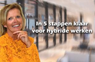 Training: In 5 stappen klaar voor hybride werken!
